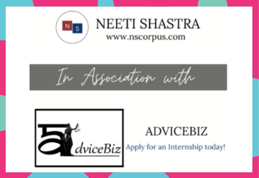 Internship Opportunity with ADVICEBIZ by Neeti Shastra